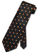 w/ Orange Polka Dots