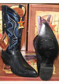 Lizard Skin Boots For Men