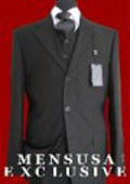 3 Button Vested 3 Piece Super 150's Fine Wool Feel Poly~Rayon three piece suit Available in Many Colors $159