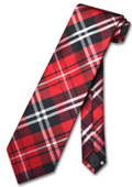 Red White Glen Plaid