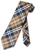 Brown White Glen Plaid