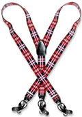 Plaid Design Black Red