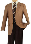 SKU#GV5724 Mens Wool Sport Coat Camel ~ Khaki Glen Plaid $125