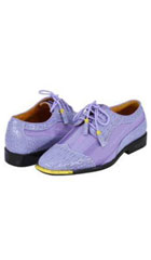 Mens Lavender Light Purple Dress Shoes