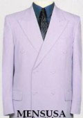 Exclusive Uniqe Stunning White Double Breasted Mens Dress Suits $149