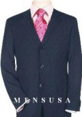 SKU QRE438 Extra Long Navy Blue Suits in Super 150s Italian Wool Suit MensUSA Exclusive Line Vented 199