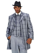 Plaid Vested Urban Men