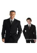 1 Men + 1 Boy MATCHING SET FOR BOTH FATHER AND SON 2 or 3 Buttons option WOOL SUIT $264