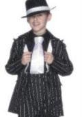 Boy Black & White Stripe Fashion Zoot Suits $100