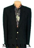 Exclusive MENS 2 Button Texture Black BLAZER SUIT or JACKET $99