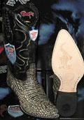 Crocodile boots