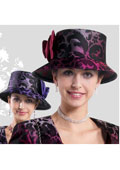 Women Raspberry / Purple  hat