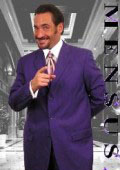 Purple Single Breasted Men Dress Suits $110