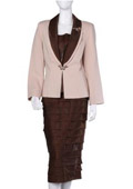 Dress Set Brown $139