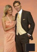 SKU#PDX368 Light Weight Two Button CoCo Brown Notch Wedding Suits As seen IN Bridal Magazin