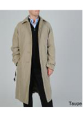 Mens full length coat