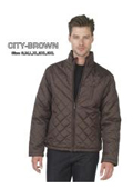 Sleeve Quilted Jacket in
