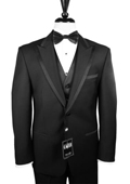 2-Button Peak Tuxedo -