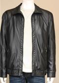 Faux Lamb Leather Jacket