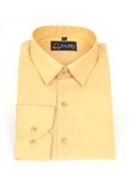 SKU#VR5234 Mens Dress Shirt Slim Fit Peach