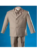 Boys khaki suit