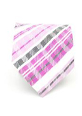 Pink Glen Plaid Neck