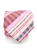 Slim Pink Glen Plaid