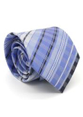 Slim Purple Glen Plaid
