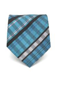 Slim Tourquoise Glen Plaid