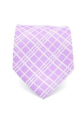 Purple Gentlemans Necktie with