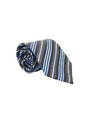 Classic Blue/Black Striped Necktie