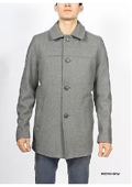 Gray Wool Mod Beatnik