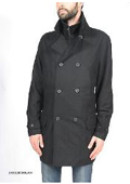 Premium Wool Military Peacoat