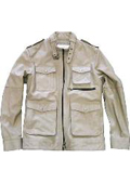 Military Genuine Leather Jacket