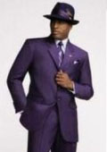 Mens Dark Purple Fashion Dress