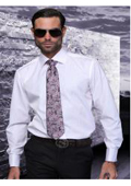 Cuffed Matching Shirt Tie