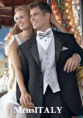 2-Button Super 120's Wool tuxedo suits + Shirt + Silver Gray + Bow Tie $195