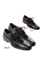New Men's Quality PU Uppers Oxfords Casual Dress Shoes Black and Brown Colors $65