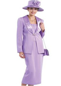 Lynda Couture Promotional Ladies Suits- Lavender$139