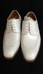 Mens Two Tone Shoes White $99