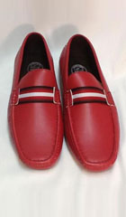 SKU#KA6620 Mens RED tone on tone Shoes