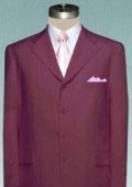 Solid Burgundy non-Vented Jacket