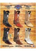 SKU#PN76 Rodeo Toe Genuine OSTRICH Cowboy Western Boots Multi-color