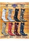 Cowboy boots toe styles