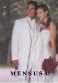 Classic Modern Longer 36 Inch White zoot Tuxedo For Men $199