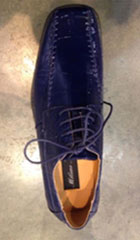SKU#PN-3N Mens Dress Shoes Navy Blue $85
