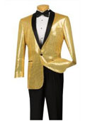 Tuxedo Sequin Dinner Jacket