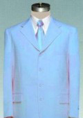 eautiful Mens Light Blue ~ Sky Blue Pastel Dress With Nice Cut Smooth Soft Fabric $109