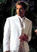 Longer coat 4 Button White Notch Tuxedo -38\ 4 Button \Long Coat Tuxedo\- $189