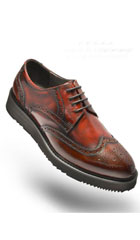 SKU#AC-513 Angelino-Anthony-Burgundy-Shoes $125